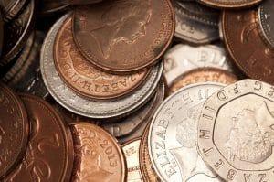 Various UK coins