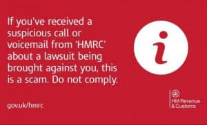 Top tips to avoid HMRC scams